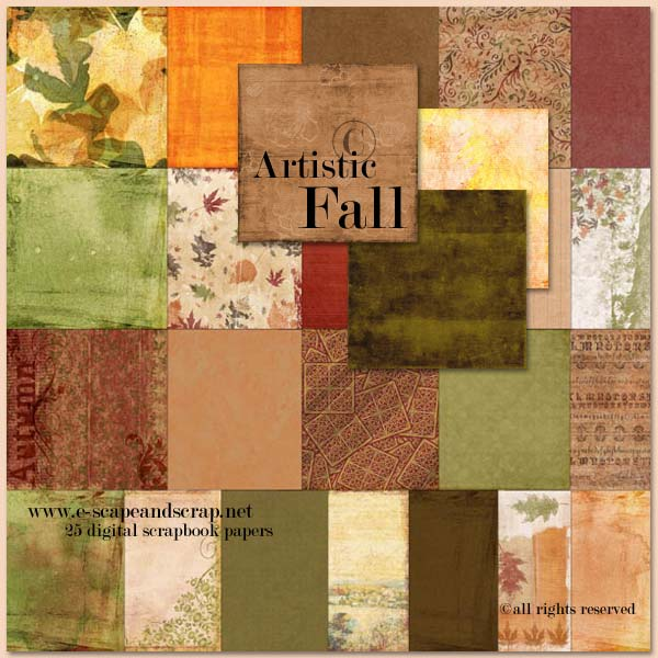 Artistic Fall Papers