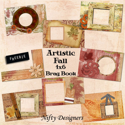 Artistic Fall Brag Book