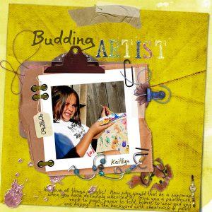Budding Artist by Scoobie