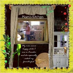 Mom's Kitchen by Erica