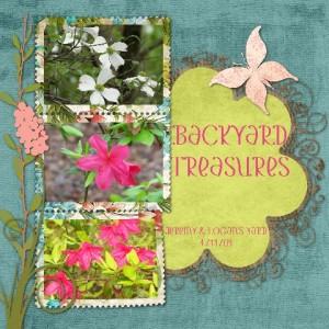 Backyard Treasures by Judy