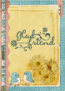 Friendship Card by Erica