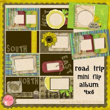 Road Trip Mini Flip Album
