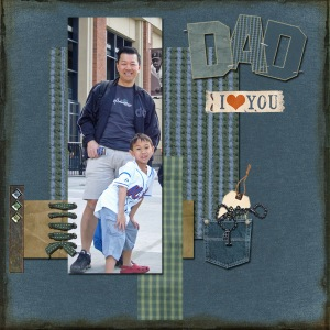 Dad I Love You by Fong 33