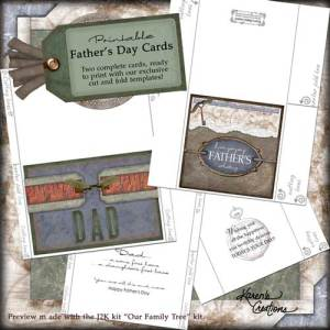 Father's Day Cards by Karen Aicken