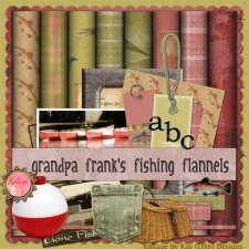 Grandpa Frank's Fishing Flannels by Kay Eflin