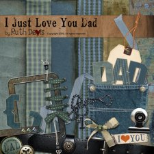 I Just Love You Dad by Ruth Davis