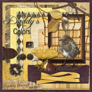 My Daddy's Colors by Ingeborg