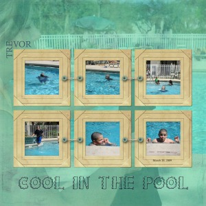 Cool in the Pool by Tania
