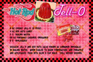 Nifty 50s Red Hot Jello