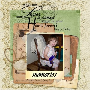 Rocking Chair by Judy