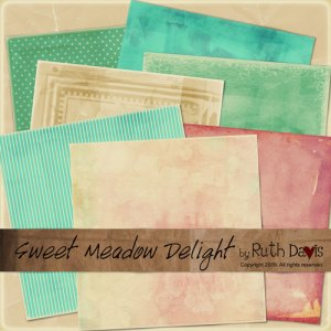 Sweet Meadow Delight Papers