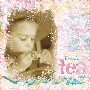 Tea Party by Lynn