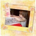 Addy Loves to Color by Judy L