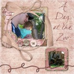 Day at the Zoo by Judy