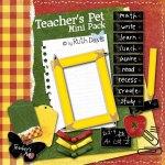 Teacher's Pet by Ruth Davis