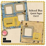 School Bus Quick Pages by Kay Eflin