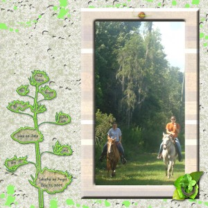 Trail Ride by Tania