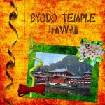 Byodo Temple in Hawaii by Carol