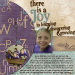 Joy in Learning by Tania